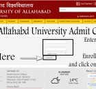 Download Allahabad University Admit card 2020 by name or by roll number for UG and PG exam.